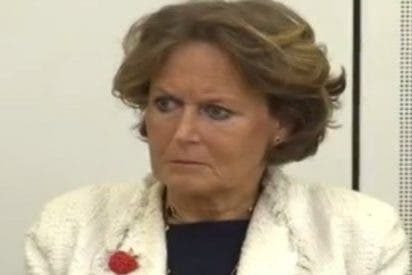 """La vivaracha baronesa amiga de la difunta Thatcher: """"Los pobres pasan hambre porque no saben cocinar"""""""