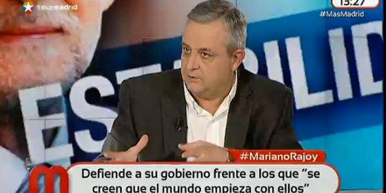 """Antonio Martín Beaumont: """"Podemos es el 'Cacao maravillao', que no existía, pero en las encuestas la gente decía que lo consumía"""""""