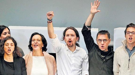 El Cacao Maravillao del Podemos de Pablo Iglesias