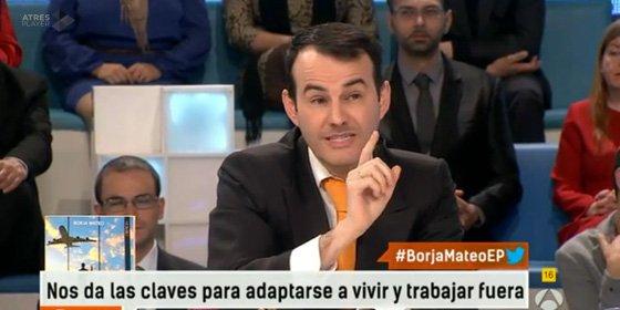 """Borja Mateo: """"Hay españoles que son demasiado pijos, quieren derechos sin dar un palo al agua"""""""
