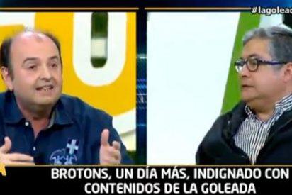 "Brotons, a saco contra Juanma Rodríguez: ""Quieres seguir comiendo a costa de Florentino Pérez"""