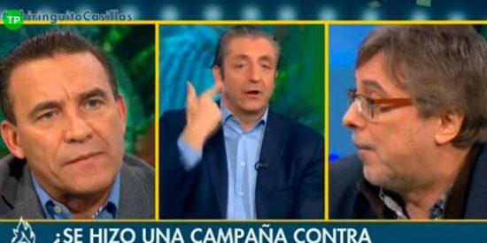 """José Damián González enfurece con Josep Pedrerol: """"A mí no me engañas con Casillas"""""""