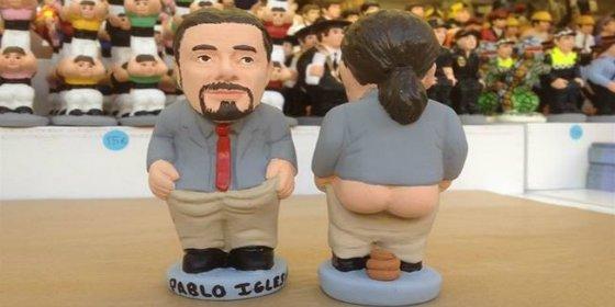 Pablo Iglesias puede triunfar en tu belén con el culo al aire: ya tiene su caganer