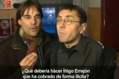 """Cake deja retratado a Monedero: """"¿Por qué no respondes a Telemadrid que es una televisión pública?"""""""
