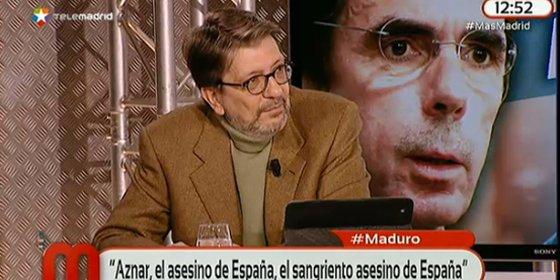 """Ignacio Camacho: """"¿Cómo van a defender a Aznar de los ataques de Maduro si la izquierda española le llamó genocida"""""""