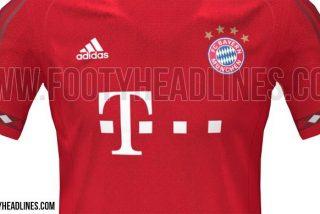 El Bayern sorprende con su camiseta para la próxima temporada