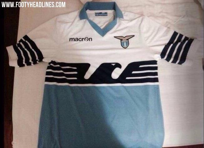 La sorprendente nueva camiseta de la Lazio
