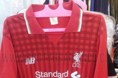 Así es la nueva camiseta del Liverpool para la próxima temporada