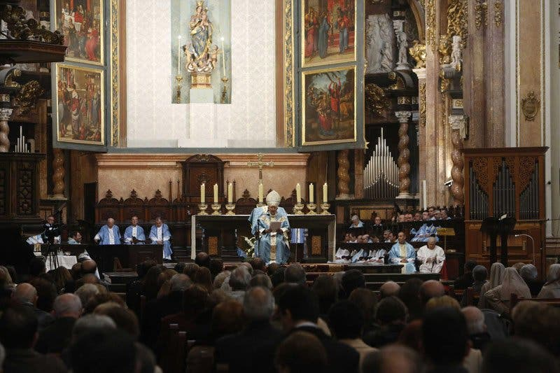 """Cañizares dice que obedecer a Dios como María """"es fuente de auténtica alegría"""""""