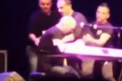 [Vídeo] La trágica muerte de Giuseppe 'Pino' Mango en el escenario mientras interpretaba una canción