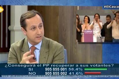 """Carlos Cuesta retrata al 'Torquemada' de Podemos: """"Tenemos a un aspirante a dictador al que le molestaron cuatro preguntas libres"""""""