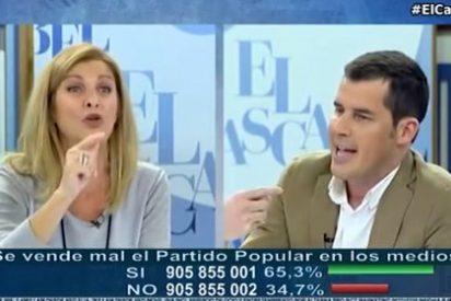 """Carmen Tomás deja para el arrastre a Juan Segovia: """"Deja de echar mierda a otros y mira en el PSOE"""""""