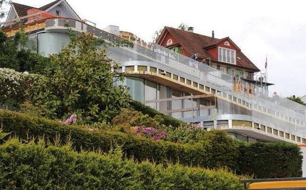La espectacular casa que se ha construído Federer de 8,5 millones de euros