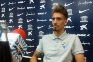 Seguirá hasta final de temporada en el Málaga pese a su fichaje por el Atlético