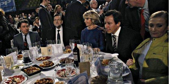 Mariano Rajoy acudirá con Ignacio González y Esperanza Aguirre a la cena de Navidad del PP de Madrid