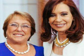 Cristina y Bachelet se verán con el Papa