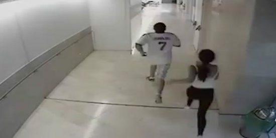 El vídeo de la fuga de 'El Chucky' del Gregorio Marañón durante un permiso carcelario