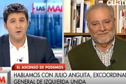 El rapapolvo de Julio Anguita a un Cintora abochornado trae cola