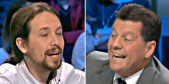 El regreso de Pablo Iglesias a TVE desata el morbo con Alfonso Rojo