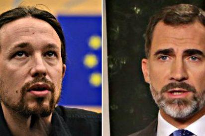 La política se complace en las paradojas: El Rey y Podemos