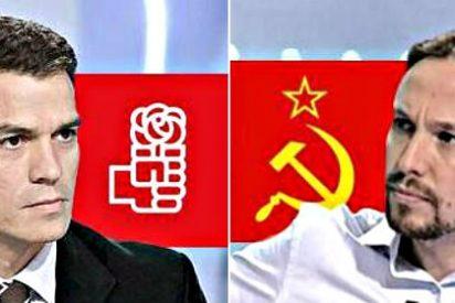 Pedro Sánchez y Pablo Iglesias se disputan a cara de perro la hegemonía de la izquierda española