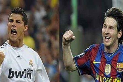 Cristiano Ronaldo y Leo Messi, picados y con el gol por bandera