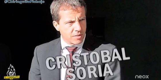 Cristóbal Soria asegura que le amenazaron con multarle si los jugadores no saludaban a los Biris