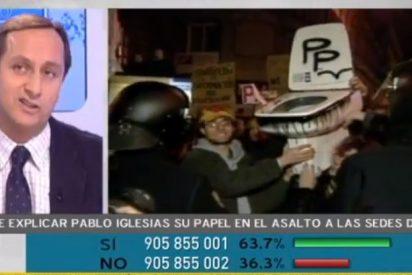 'Más Claro Agua' descubre cómo Pablo Iglesias se sumó al 'agit prop' del 13-M