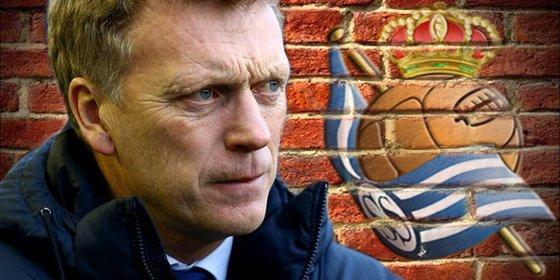 Moyes quiere la cesión de un jugador del Manchester para la Real