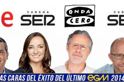 EGM: Alfredo Menéndez, Pepa Bueno, Jesús Gallego y Radioestadio, las caras del éxito de la última oleada del año