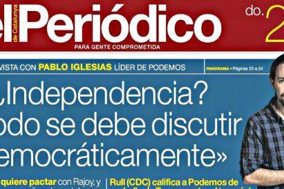 Pablo Iglesias a favor de la independencia de Cataluña: