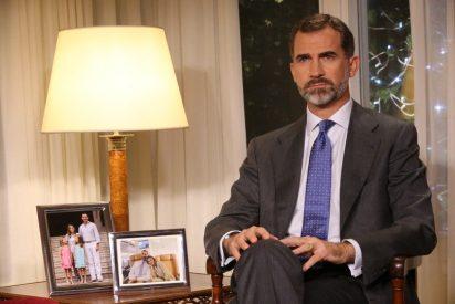 """Carlos Herrera: """"Felipe VI eligió para su mensaje navideño un decorado propio de una vivienda de protección oficial"""""""