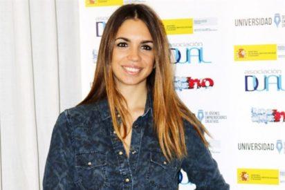 Elena Furiase protagonista de una campaña contra el botellón