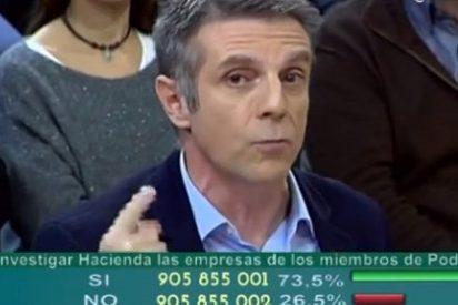 """Enrique Riobóo a Pablo Iglesias: """"Eres un defraudador y un mentiroso"""""""