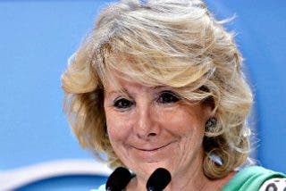 Esperanza Aguirre se postula sin rodeos como candidata del PP a alcaldesa de Madrid