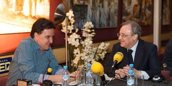 """Florentino Pérez: """"Tengo amigos en la prensa, pero concedo pocas entrevistas porque tengo poco que decir"""""""