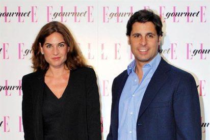 Francisco Rivera y Lourdes Montes apoyando a José Manuel Soto
