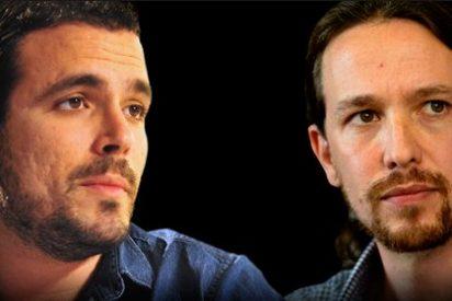 Alberto Garzón no acaba de asumir que es un membrillo para Pablo Iglesias