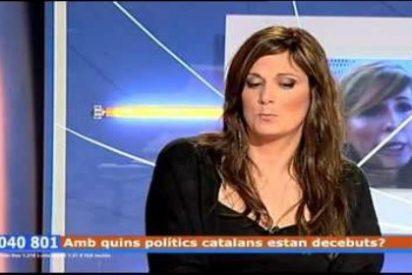 """La candidata de Podemos en Cataluña es de armas tomar: """"Tenemos las cunetas llenas en nombre de la bandera de España"""""""