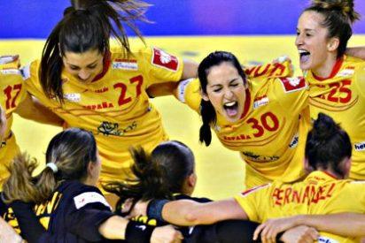 Las 'guerreras' del balonmano español derrotan a Montenegro y jugarán la final del Europeo