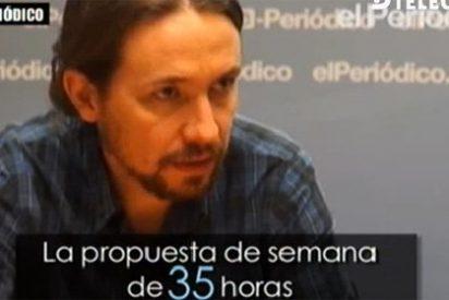 Pablo Iglesias sigue tirando balones fuera y se niega a debatir sobre monarquía y república