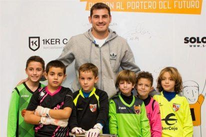 Todo un regalo para los porteros más jóvenes, la cámara oculta de Iker Casillas