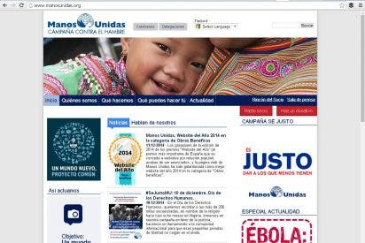 "Manos Unidas, ""Website del Año"""