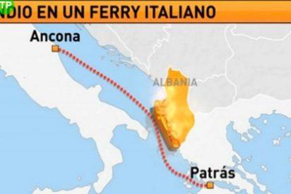 El rescate de los pasajeros del ferry italiano 'Norman Atlántic' concluye con ocho muertos