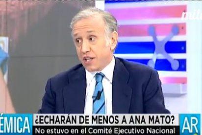 """Eduardo Inda lapida a Ana Mato: """"Lo que ha protagonizado es una golfería"""""""