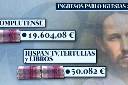 'El Cascabel' pone morado al proletario Pablo Iglesias por sus suculentos ingresos