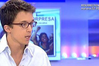Íñigo Errejón, suspendido de empleo y sueldo por la Universidad de Málaga