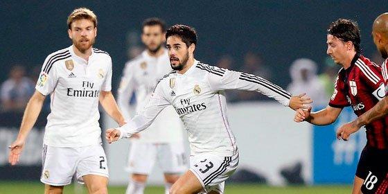 El Real Madrid cae frente al Milán por 2-4 en el último partido del año