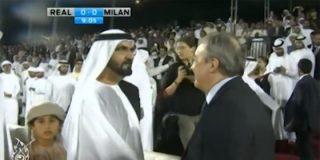 """Pedrerol cuenta las reverencias que le hace Florentino Pérez al jeque de Dubai: """"Casi da las 12 campanadas"""""""