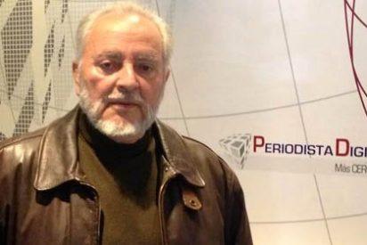 Anguita pide la ruptura inmediata del pacto con el PSOE de Susana Díaz